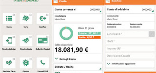intesa san paolo windows phone