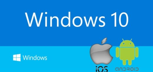 ios android windows 10