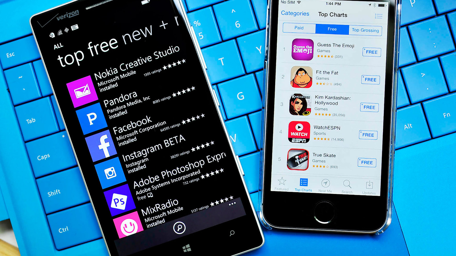 store di Windows 10 Mobile