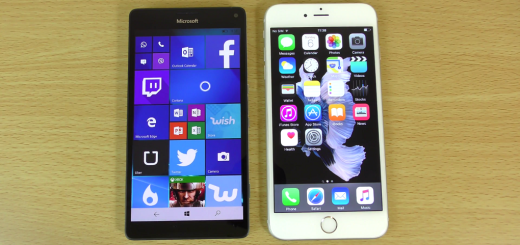 Lumia 950XL VS Iphone 6S Plus