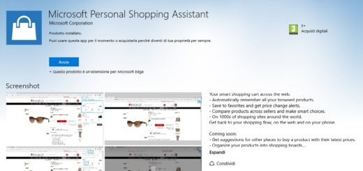 Microsoft Personal Shipping Assistant