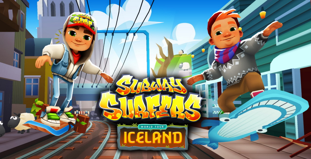 Subway surfers iceland